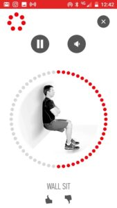 1. Official Johnson and Johnson 7-Minute Workout