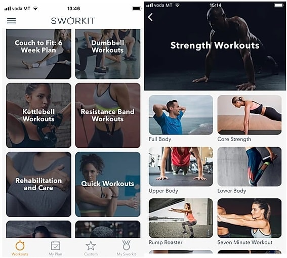 Sworkit review: Can this fitness app bring results?