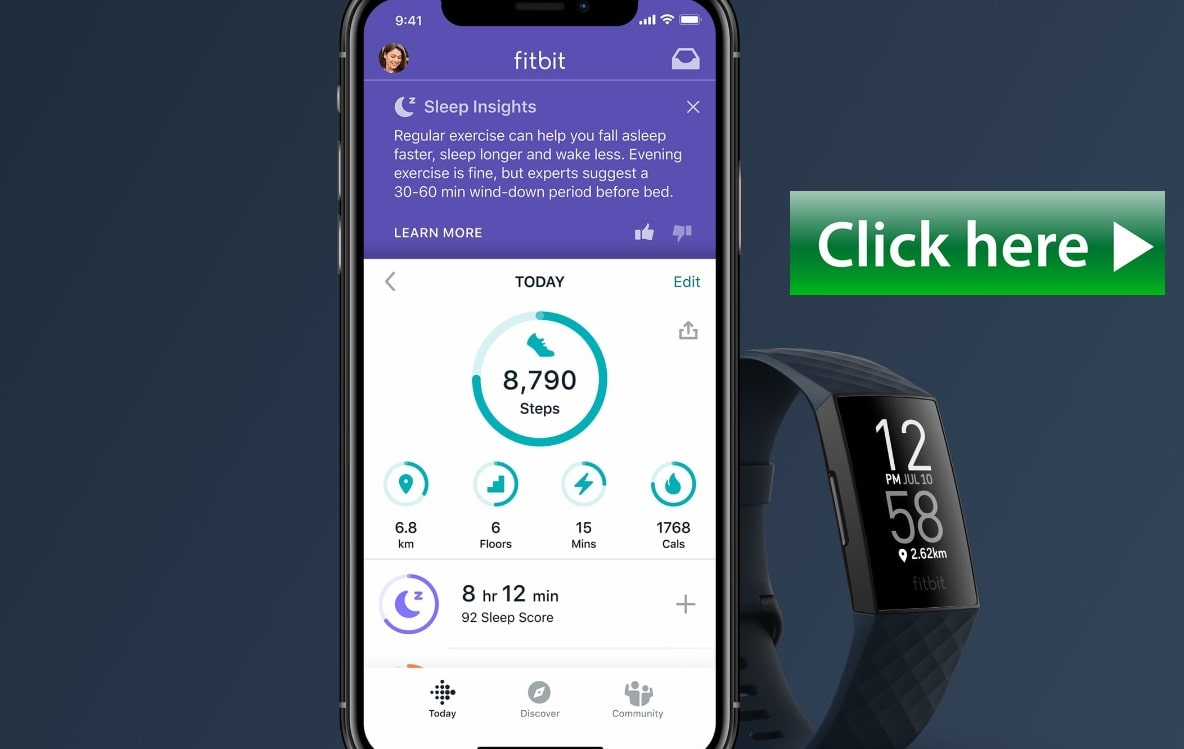 Fitbit tracking