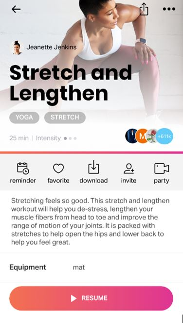 stretch and lengthen