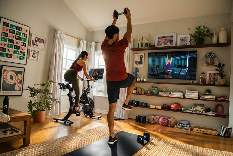 Peloton workouts and routines